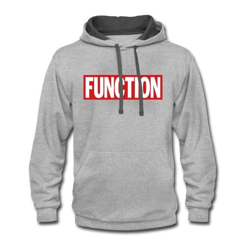 FUNCTION - Contrast Hoodie