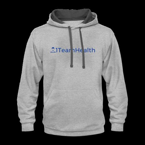 1TeamHealth Simple - Contrast Hoodie