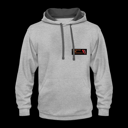 my channel merch design - Contrast Hoodie