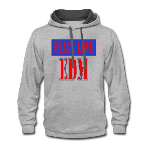edm - Contrast Hoodie