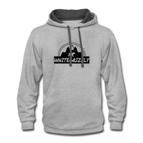 WHITEGRIZZLYCLOTHING - Contrast Hoodie