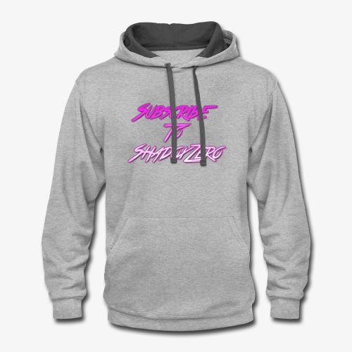 Subscribe To ShadoxZero - Contrast Hoodie