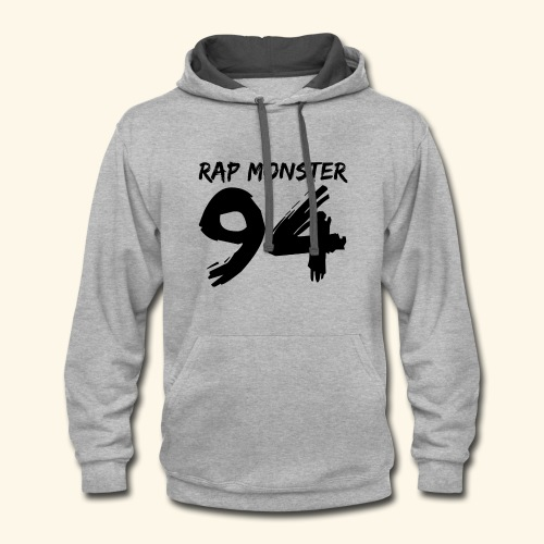 BTS Rap Monster 94 Design - Contrast Hoodie