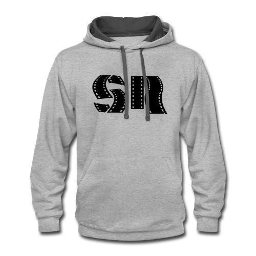 SimonsRants Logo Style #2 - Contrast Hoodie
