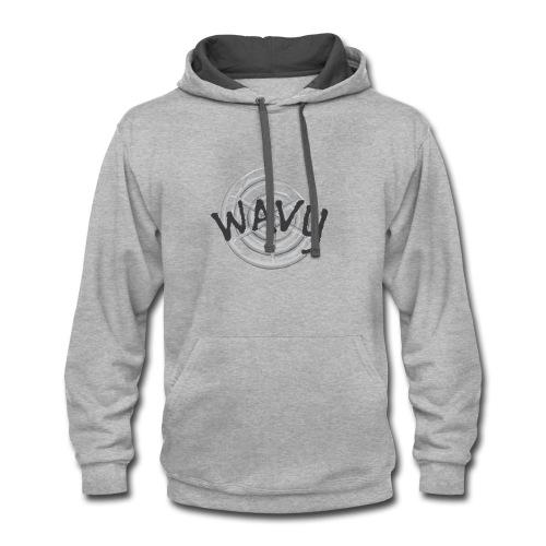 Wavy - Contrast Hoodie