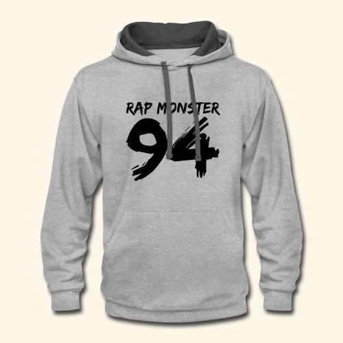 BTS Rap Monster 94 Design - Contrast Hoodie