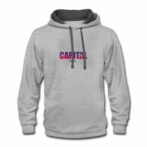 Capital - Contrast Hoodie