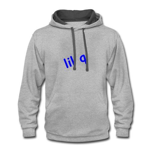 Lil Q Logo - Contrast Hoodie