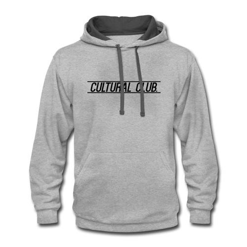 Cultural Club - Contrast Hoodie