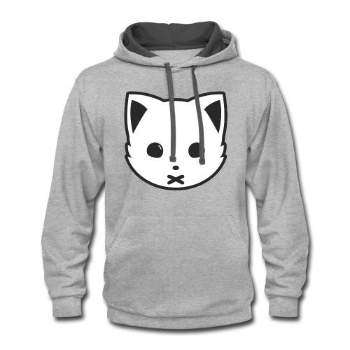 Meowx (Logo) - Contrast Hoodie