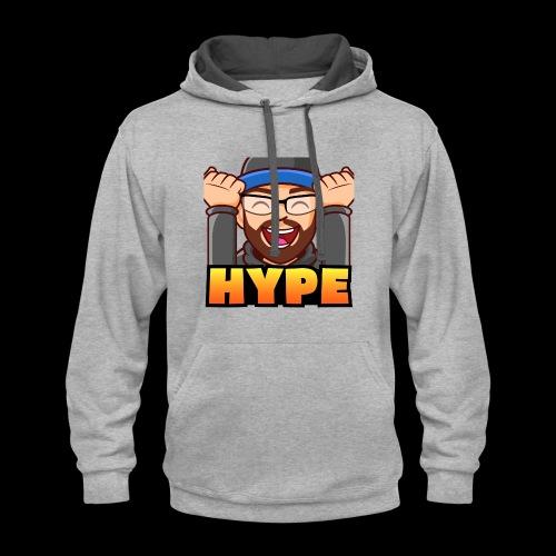 HYPE - Contrast Hoodie