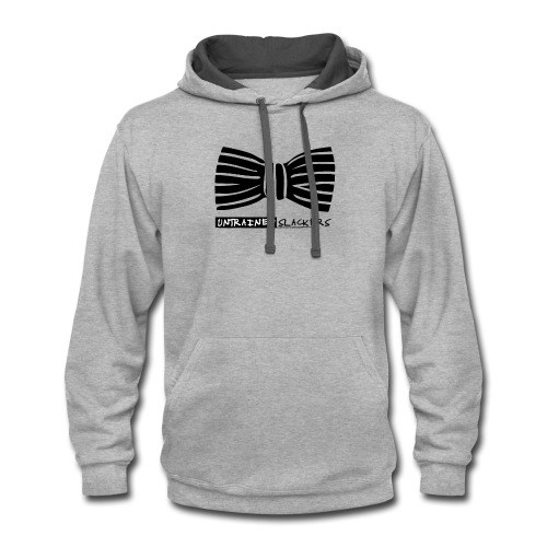 Untrained Slackers Bowtie Shirt - Contrast Hoodie