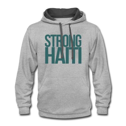 HAITI - Contrast Hoodie