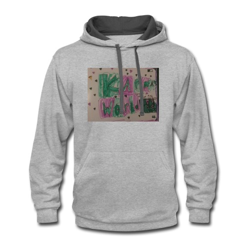 Kids and adults - Contrast Hoodie