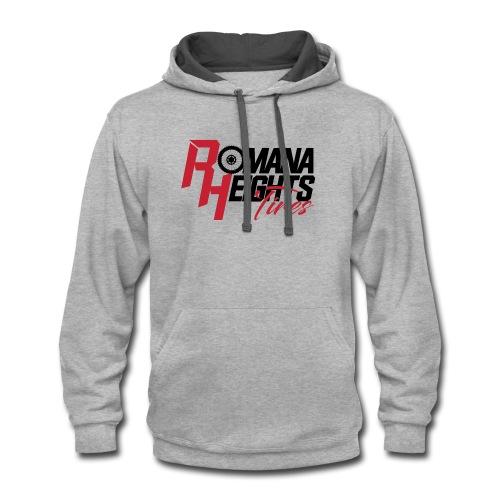 Romana Heights Logo Light - Contrast Hoodie