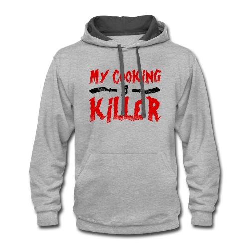 Killer Cooking - Contrast Hoodie
