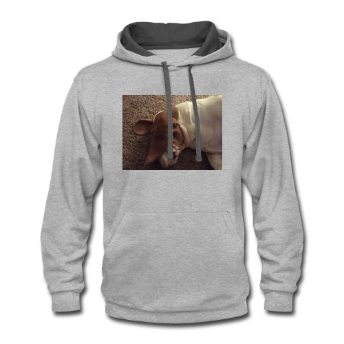 MY DOG DUDLEY - Contrast Hoodie