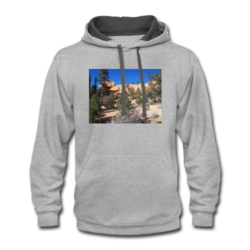 Fool on the Hill - Contrast Hoodie