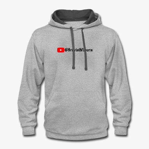 Brevin Youtube Merch - Contrast Hoodie