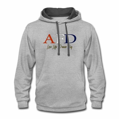 AFD Logo - Contrast Hoodie