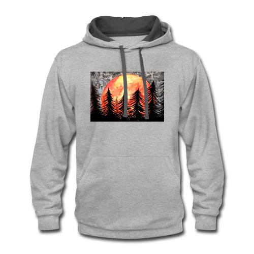 sunset - Contrast Hoodie