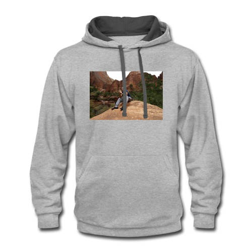Nini Zions park collection - Contrast Hoodie