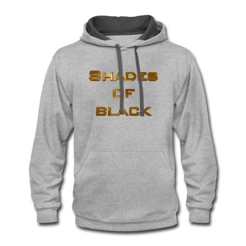 Shades of Black Logo - Contrast Hoodie