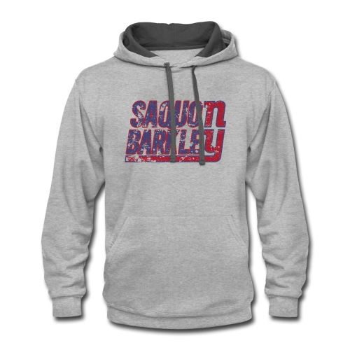 Saquon Barkley Shirt - Contrast Hoodie