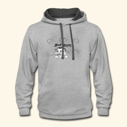 BeetLovers.tk's official Music Man Collection - Contrast Hoodie