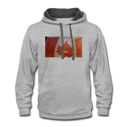 New Logo is now on shirts - Contrast Hoodie