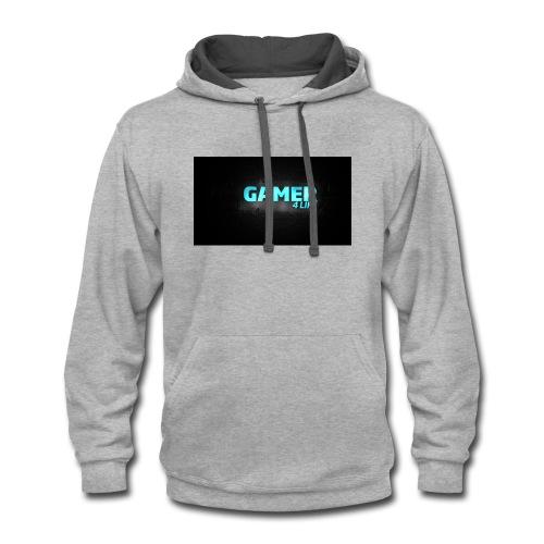 Gamer 4 Life - Contrast Hoodie