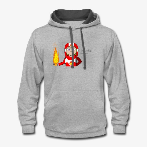 Fireworld - Contrast Hoodie