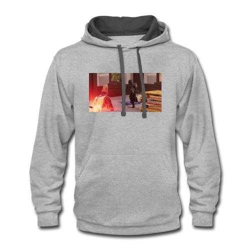 Drift and Black Knight about to collide - Contrast Hoodie