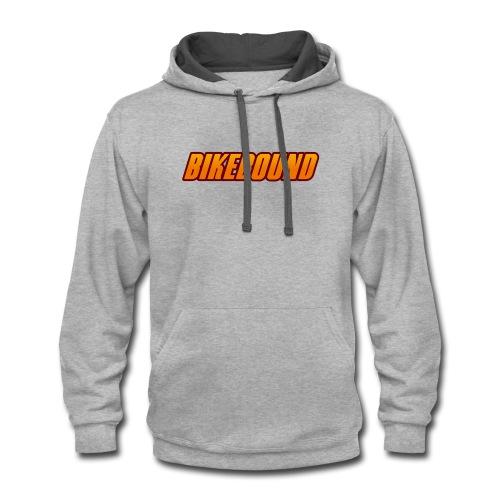 BikeBound Logo - Contrast Hoodie