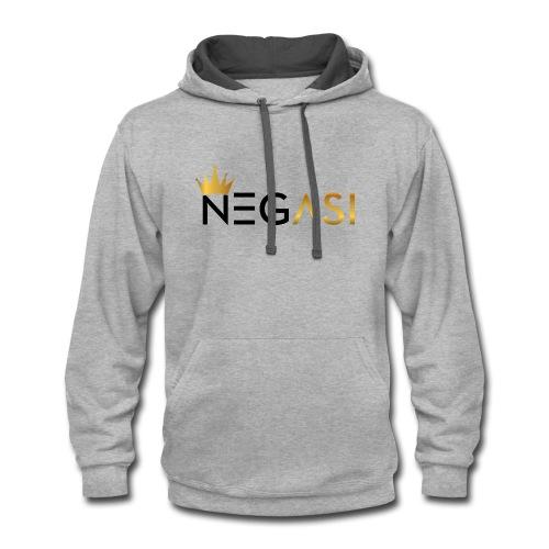 NEGASI - Contrast Hoodie