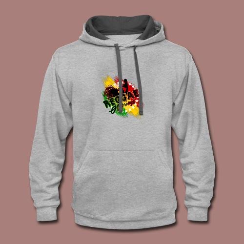 Reggae Offspring PNG - Contrast Hoodie