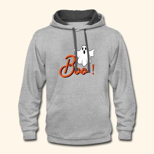 BOO ! - Contrast Hoodie
