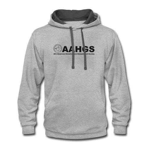 AAHGS Full Logo (black) - Contrast Hoodie