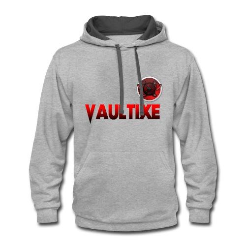 vaultaxe merch 2 - Contrast Hoodie
