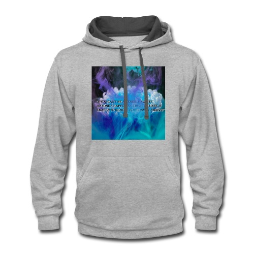Be in example - Contrast Hoodie
