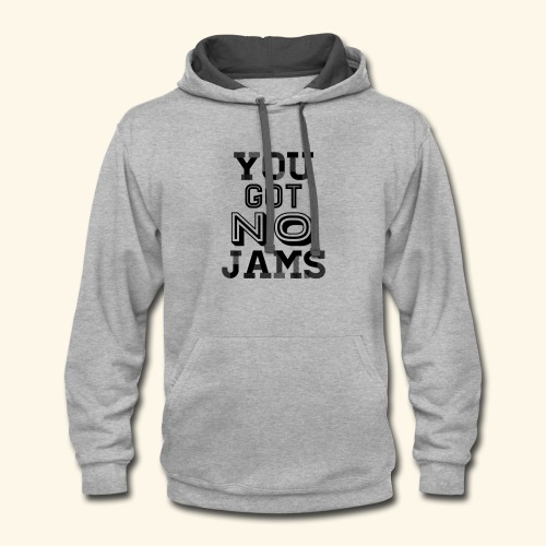 BTS You Got No Jams Hippy Design - Contrast Hoodie
