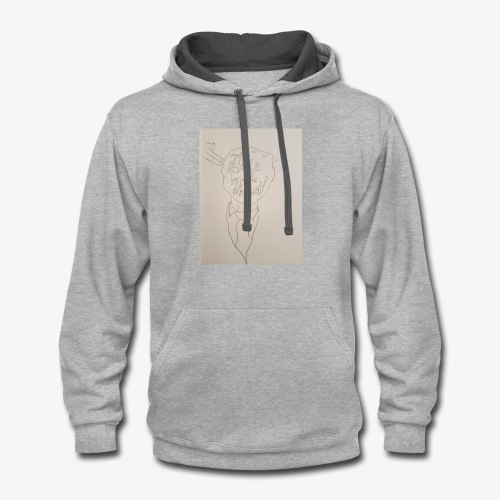 The Battle In The Mind - Contrast Hoodie