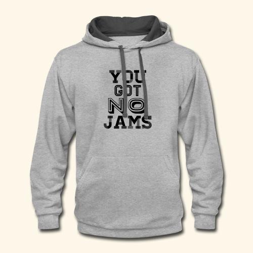 BTS You Got No Jams Hippy Design - Contrast Hoodie