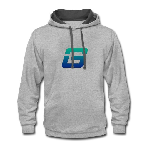Give Esports Logo - Contrast Hoodie