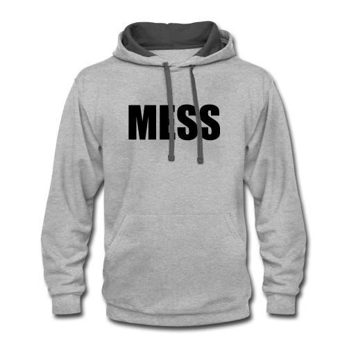 MESS - Contrast Hoodie