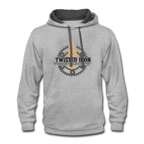 Twisted Iron Farming Co - Contrast Hoodie