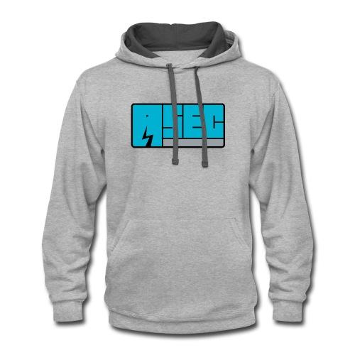 ASEC logo 1 - Contrast Hoodie