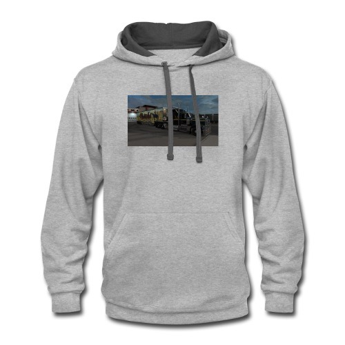 IN HONOR OF BURT REYNOLDS - Contrast Hoodie