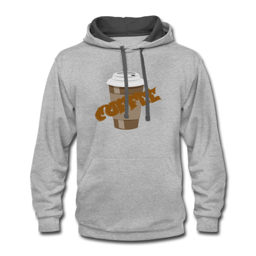 Coffee Official - Contrast Hoodie