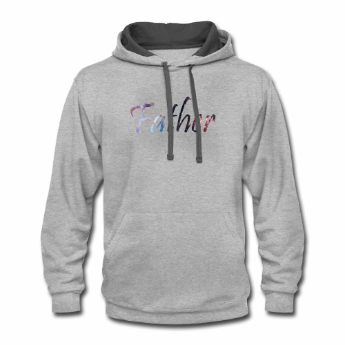 One with the universe - Contrast Hoodie